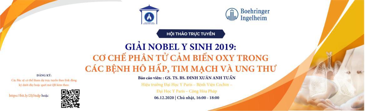 Giải Nobel Y Sinh 2019: Cơ Chế Phân Tử Cảm Biến Oxy Trong Các Bệnh Hô Hấp, Tim Mạch Và Ung Thư - ngày 6/12/2020